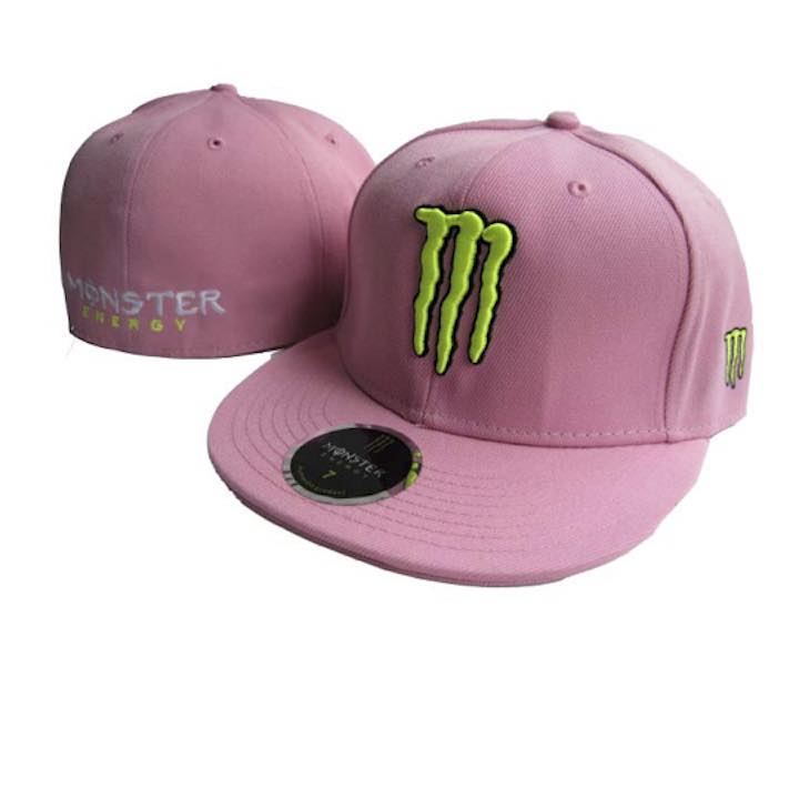 Pink Monster Energy Baseball Cap