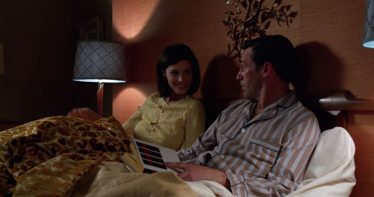 Mad Men Don Draper reads Bernard Malamud Book The Fixer in the Episode At the Codfish Ball