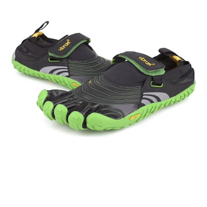 Green 5-Fingers Barefoot Shoes Spyrdion by Vibram