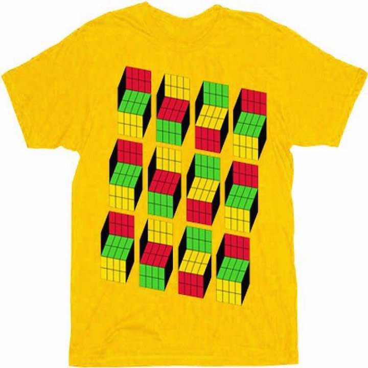 The Yellow Cubic T-Shirt that Sheldon wears in The Big Bang Theory is Not the Only Illusion